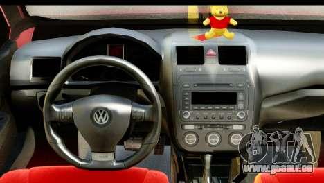 Volkswagen Bora GTI 2011 pour GTA San Andreas vue de droite