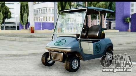 GTA 5 Caddy v2 für GTA San Andreas