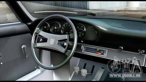 Porsche 911 Carrera 2.7RS Coupe 1973 Tunable pour GTA San Andreas vue arrière