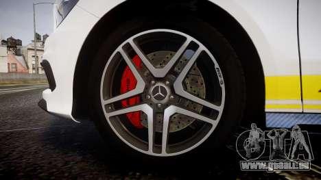 Mersedes-Benz A45 AMG PJs2 für GTA 4 Rückansicht