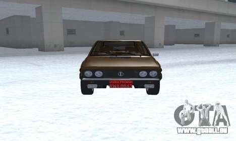 FSO Polonez 2.0X Coupe pour GTA San Andreas vue arrière