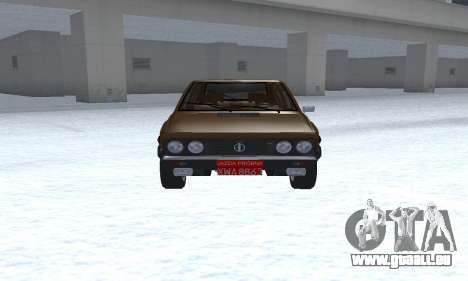 FSO Polonez 2.0X Coupe für GTA San Andreas Rückansicht