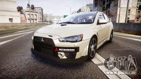 Mitsubishi Lancer Evolution X FQ400 pour GTA 4