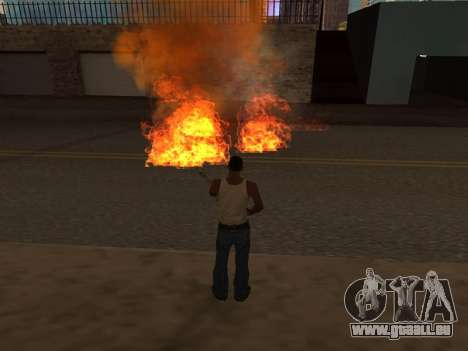 New Realistic Effects 4.0 Full Final Version pour GTA San Andreas cinquième écran
