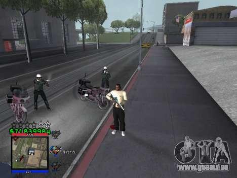 C-HUD by Santi pour GTA San Andreas deuxième écran