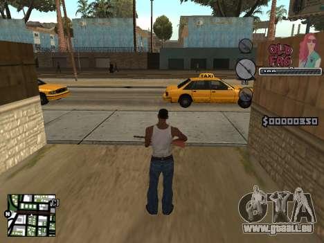 C-HUD Universal v2 pour GTA San Andreas