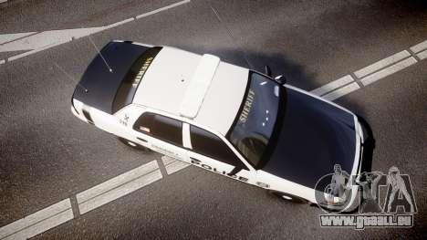 Ford Crown Victoria Sheriff Dukes [ELS] für GTA 4 rechte Ansicht