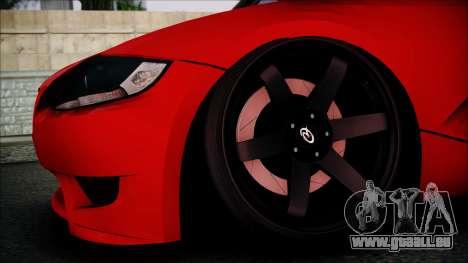 BMW Z4 M85 pour GTA San Andreas vue de droite