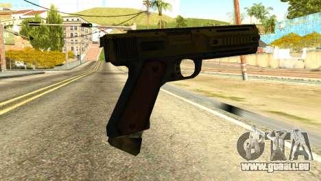 AP Pistol from GTA 5 pour GTA San Andreas deuxième écran