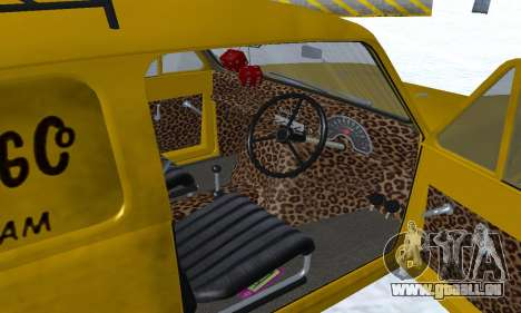 Reliant Supervan Only Fools and Horses pour GTA San Andreas salon