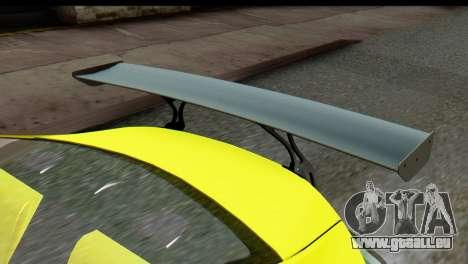Subaru BRZ 2013 pour GTA San Andreas vue de droite