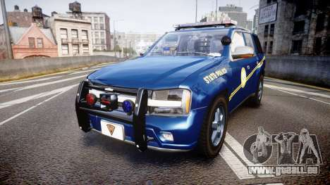 Chevrolet Trailblazer Virginia State Police ELS pour GTA 4