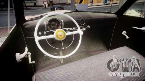 Ford Business 1949 pour GTA 4 est une vue de l'intérieur