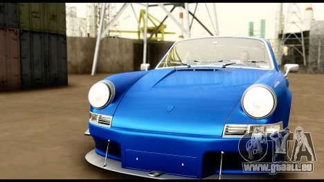 Porsche 911 Carrera 2.7RS Coupe 1973 Tunable für GTA San Andreas Innen