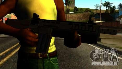 Bullpup Shotgun from GTA 5 pour GTA San Andreas troisième écran