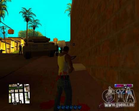 Space C-HUD v2.0 pour GTA San Andreas troisième écran
