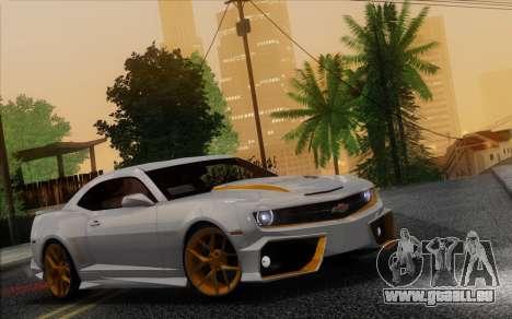 Chevrolet Camaro VR (IVF) pour GTA San Andreas vue intérieure