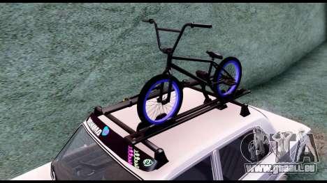 VAZ 2103 Rétro pour GTA San Andreas vue arrière
