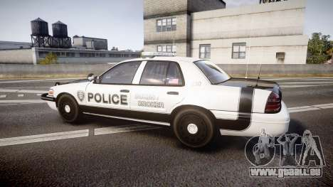 Ford Crown Victoria Sheriff Dukes [ELS] für GTA 4 linke Ansicht