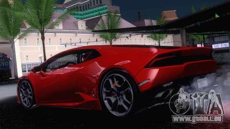 ENBSeries by Blackmore 0.075c pour GTA San Andreas quatrième écran