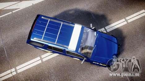 Chevrolet Trailblazer Virginia State Police ELS für GTA 4 rechte Ansicht
