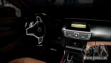 Mercedes-Benz CLS 63 AMG für GTA San Andreas rechten Ansicht