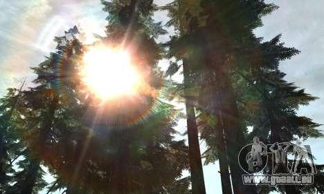 Nouvel éclat pour GTA San Andreas deuxième écran