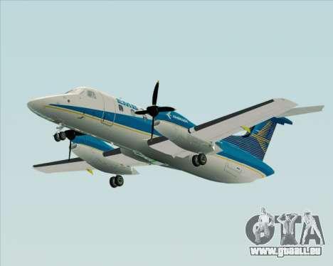 Embraer EMB 120 Brasilia Embraer Livery pour GTA San Andreas sur la vue arrière gauche