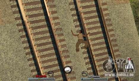 C-HUD Yeah pour GTA San Andreas troisième écran