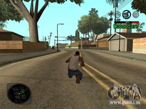 C-HUD by Radion pour GTA San Andreas troisième écran