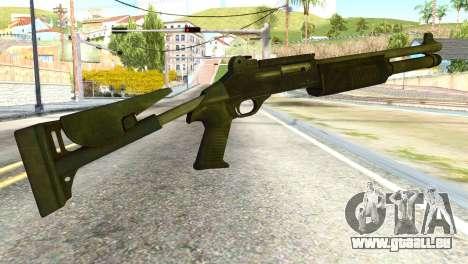 Shotgun from Global Ops: Commando Libya pour GTA San Andreas deuxième écran