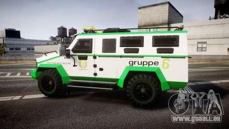 Gruppe6 Van [ELS] pour GTA 4 est une gauche