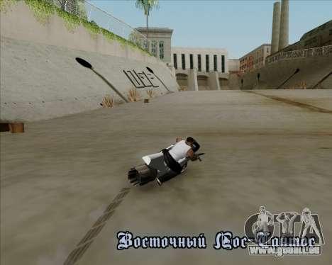 Air bike pour GTA San Andreas vue de côté