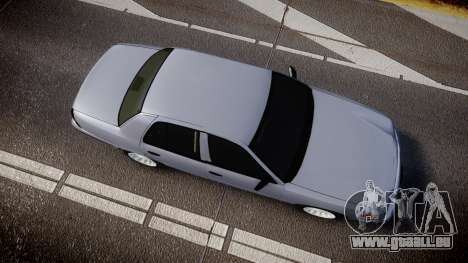 Ford Crown Victoria Unmarked Police [ELS] für GTA 4 rechte Ansicht