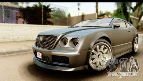 GTA 5 Enus Cognoscenti Cabrio SA Mobile für GTA San Andreas