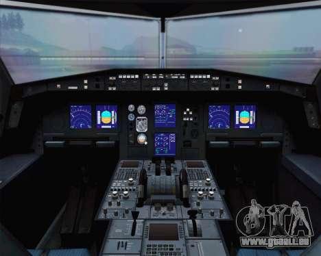 Airbus A330-300 Aeroflot - Russian Airlines für GTA San Andreas Rückansicht
