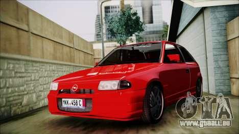Opel Astra GSI BG für GTA San Andreas