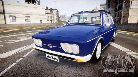 Volkswagen 1600 Variant 1973 für GTA 4