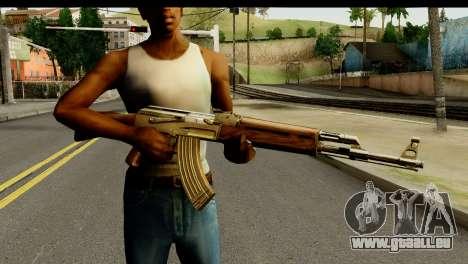 New AK47 pour GTA San Andreas troisième écran