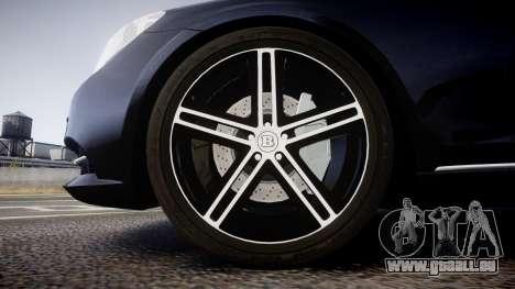 Mercedes-Benz S500 W222 für GTA 4 Rückansicht