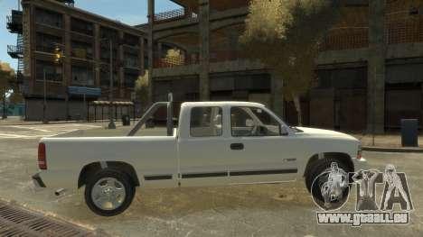Chevrolet Silverado 1500 pour GTA 4 est une gauche
