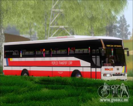 Nissan Diesel UD Peoples Transport Corporation für GTA San Andreas linke Ansicht