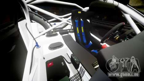 BMW Z4 GT3 2012 Northwest pour GTA 4 est une vue de dessous