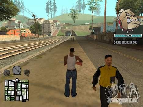 C-HUD Universal pour GTA San Andreas quatrième écran