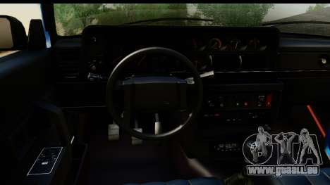 Volvo 242 Cabrio für GTA San Andreas Rückansicht