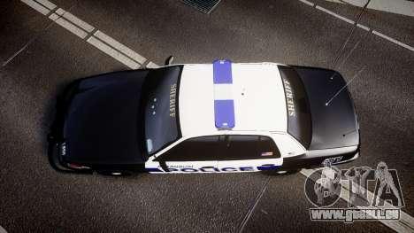 Ford Crown Victoria Police Algonquin [ELS] pour GTA 4 est un droit