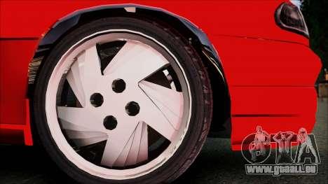 Opel Astra GSI BG für GTA San Andreas rechten Ansicht