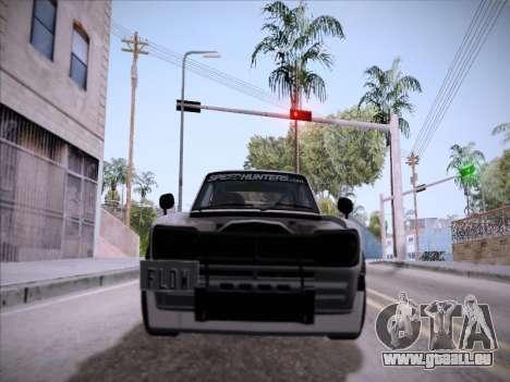 Nissan Skyline 2000 GT-R Drift Edition pour GTA San Andreas vue intérieure