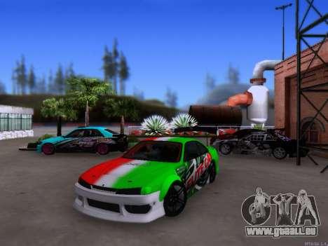 Nissan 200SX Elite Gas pour GTA San Andreas