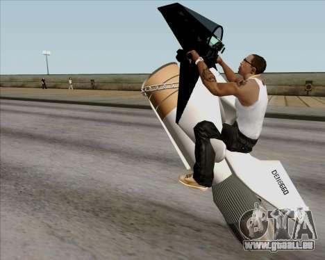 Air bike pour GTA San Andreas vue intérieure